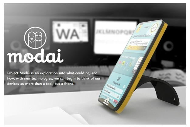 10 awesome future phone concepts modai phone1