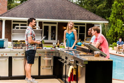 Charbroil Modular Outdoor Grill Kitchen Available Only at ...
