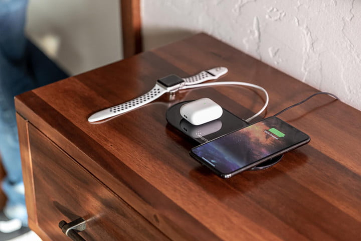 mophie dual 3 in 1 wireless charger