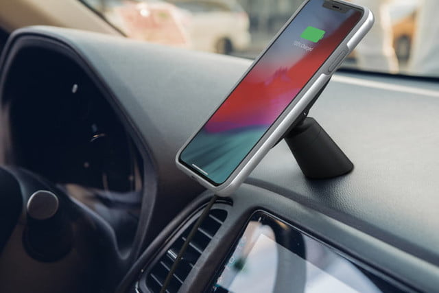 most interesting mobile accessories ces 2019 moshi snapto car mount phone
