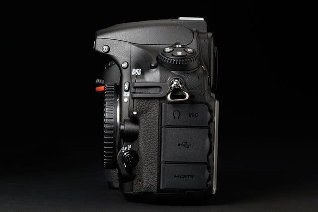 nikon d810 review right side ports 2