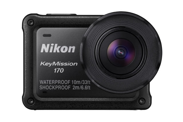 nikon keymission 170 80 action cam front