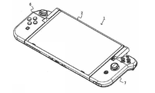Nintendo Switch Joy-Cons With Hinges Revealed in Patent