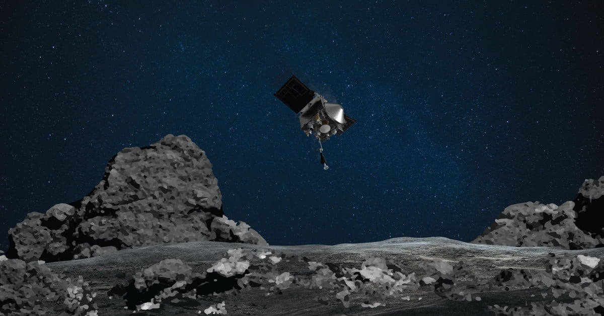 How to watch NASA grab a sample from an asteroid on Tuesday