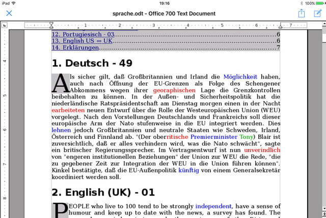 OpenOffice now Available on iOS with Office 700 | Digital Trends