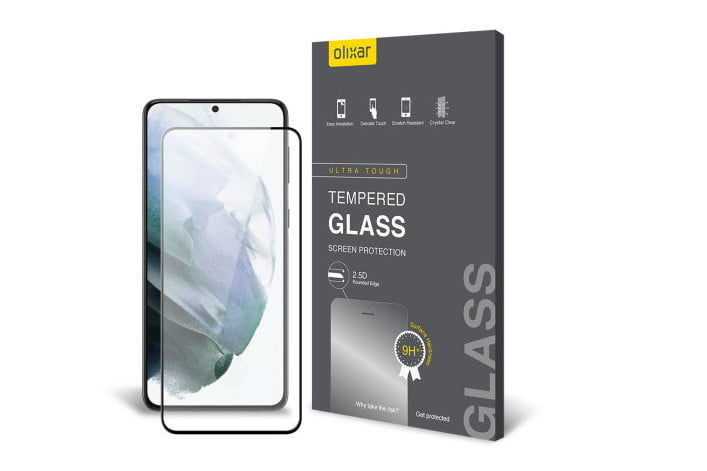 Olixar Tempered Glass Screen Protector for Samsung Galaxy S21 Plus