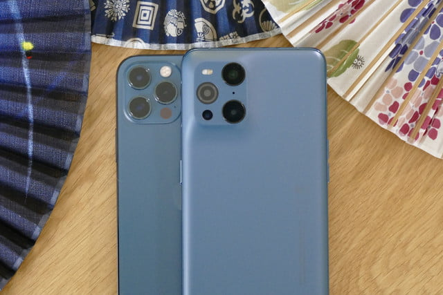 oppo find x3 pro review with iphone 12