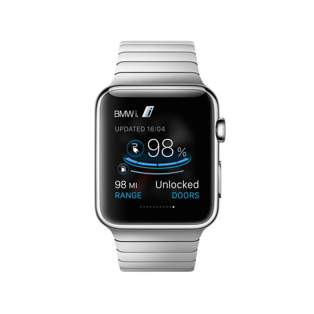 BMW i Remote app for Apple Watch