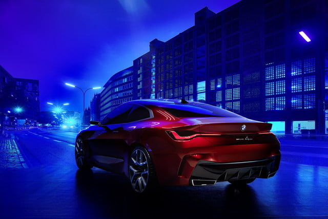 BMW Concept 4 Previews the 2021 4 Series Coupe at 2019 ...