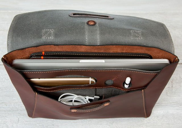 best laptop bags pad  quill valet leather bag 3