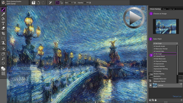 painter essentials 7 announced ai based photo painting