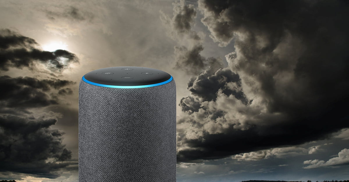 Alexa can save your life by telling you if severe weather is coming
