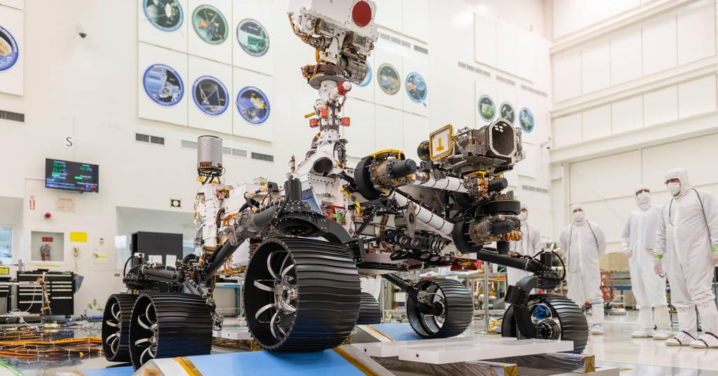 Watch Mars 2020 rover's final preparations for July 30 liftoff