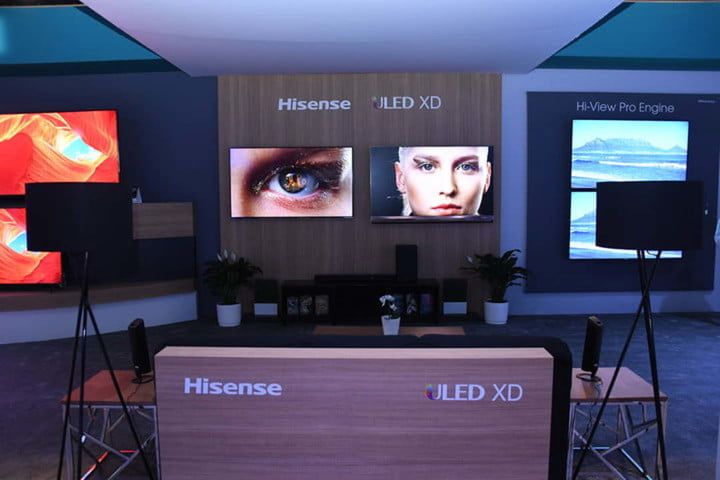 With the ULED XD, Hisense Aims to Beat OLED TVs | Digital Trends