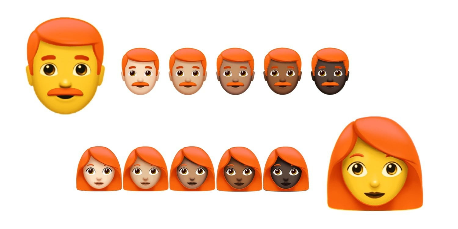 Unicode is Taking the Redhead Emoji Problem Very Seriously
