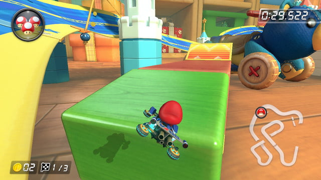 mario kart 8 shortcuts ribbon road 1