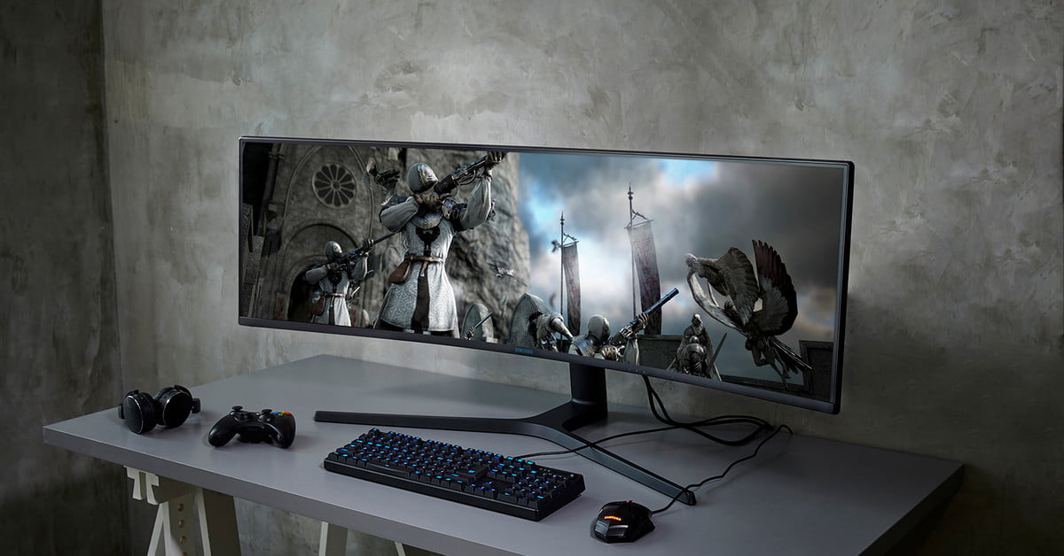 Amazon Slashes Price of 49-inch Samsung 4K Curved Gaming Monitor