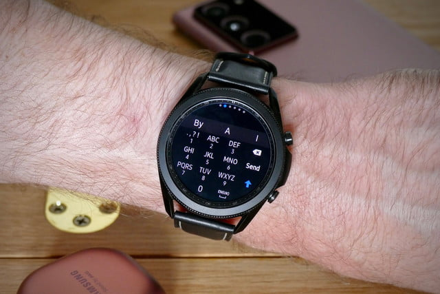 samsung galaxy watch 3 review keyboard
