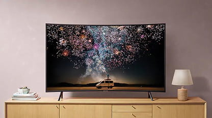 This Curved 55 Inch Samsung 4k Tv Is On Sale For Less Than 500 Digital Trends