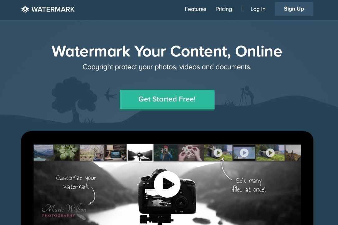 add watermark to image online free