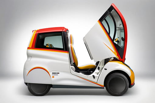 Fossil fuels are not over, Shell shows 107 mpg concept car