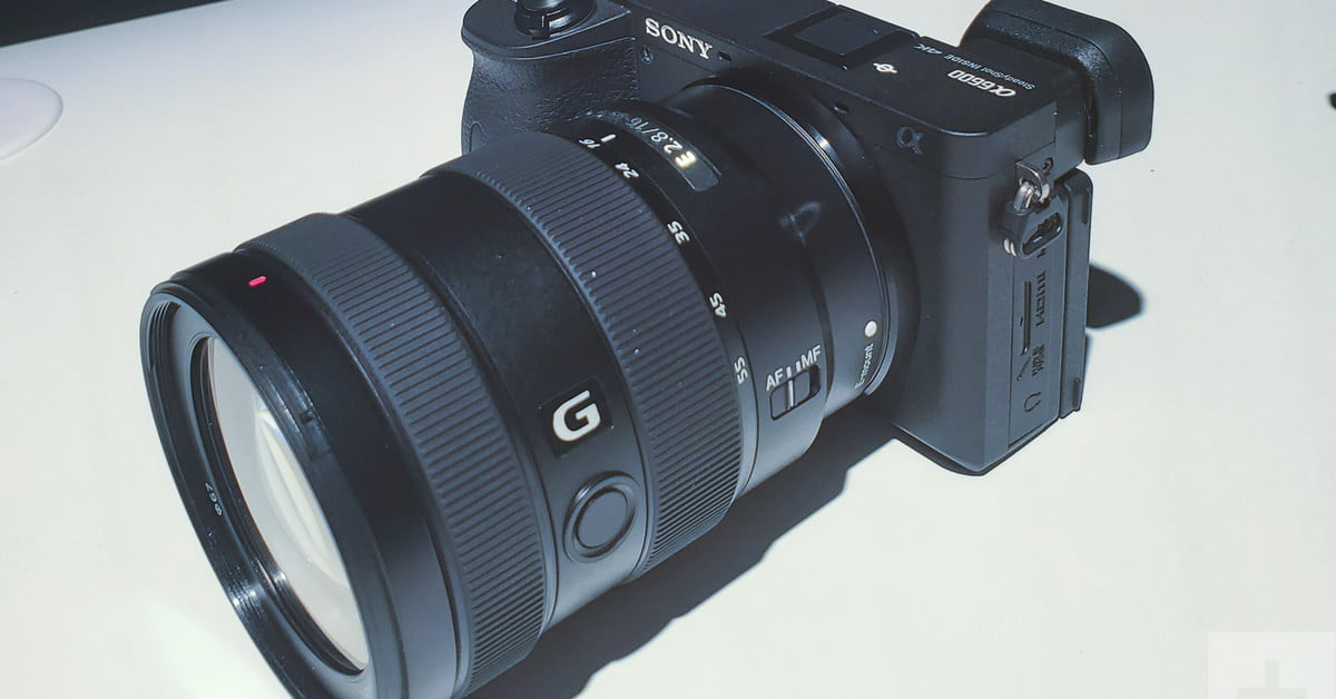 Sony A6600 hands-on review: This small camera is a big deal