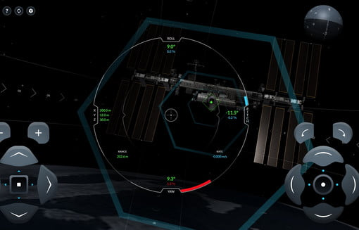 Image of article 'SpaceX Simulator Lets You Fly the Crew Dragon in Space'
