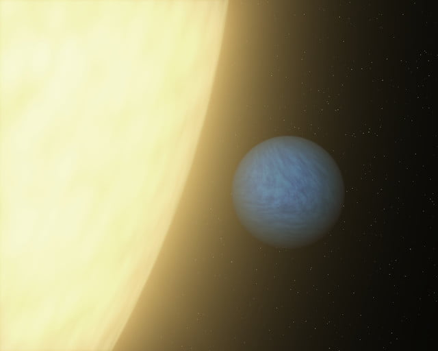 nasa illustrations data first of its kind glimpse at a super earth