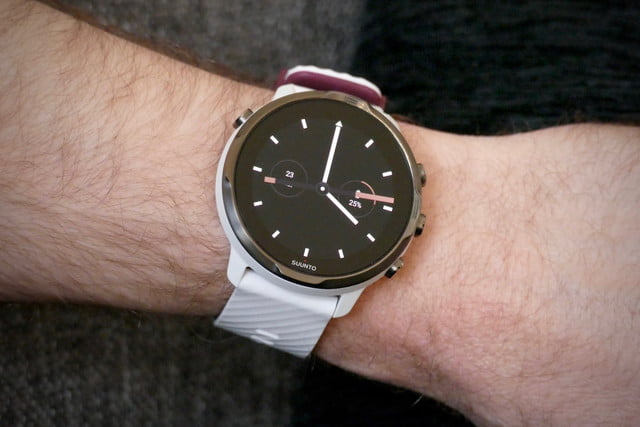 suunto 7 smartwatch review  trashed simple face