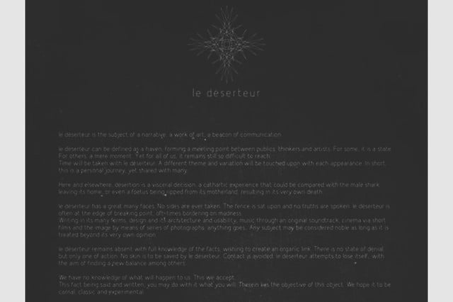 visit a museum on your ipad with le deserteur synesthesia exp d  serteur screen