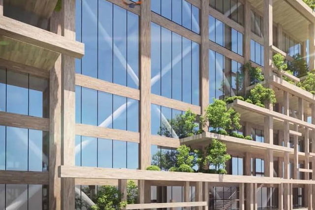 coolest buildings on earth tallest timber tower tokyo japan dezeen col3