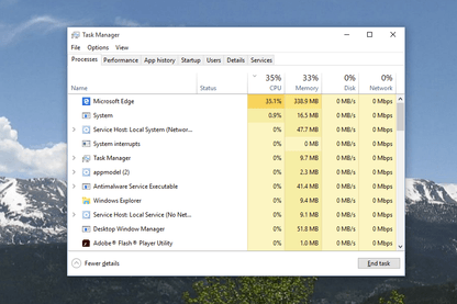 Windows 10 Task Manager Can Now Check Your GPU Usage
