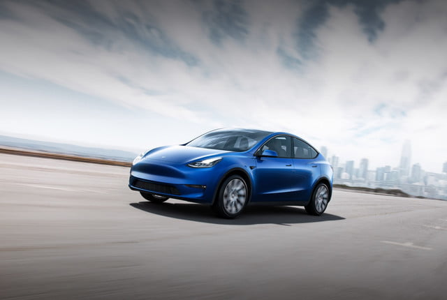 Tesla Model Y official