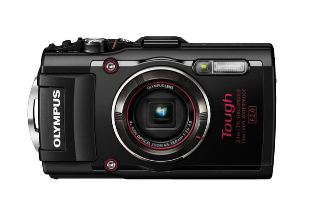 olympus tg 4 is first rugged compact to shoot uncompressed raw photos blk front