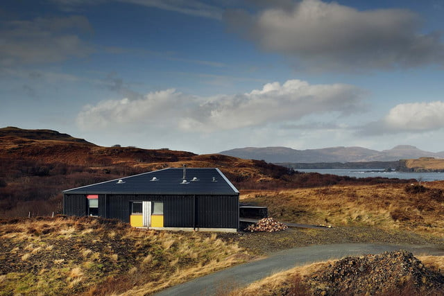 retreat from society and relax in these idyllic cabins around the world black shed 6