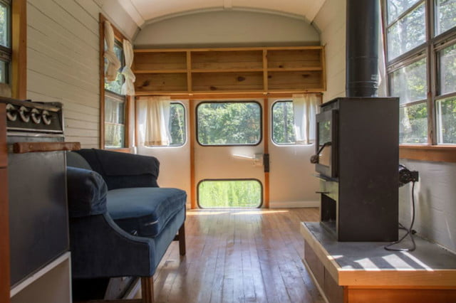 coolest bus to mobile home conversions thomasschoolbusinside