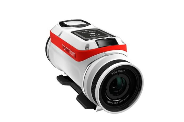 tomtoms latest gadget wont give you directions but will capture action sports tomtom bandit 1