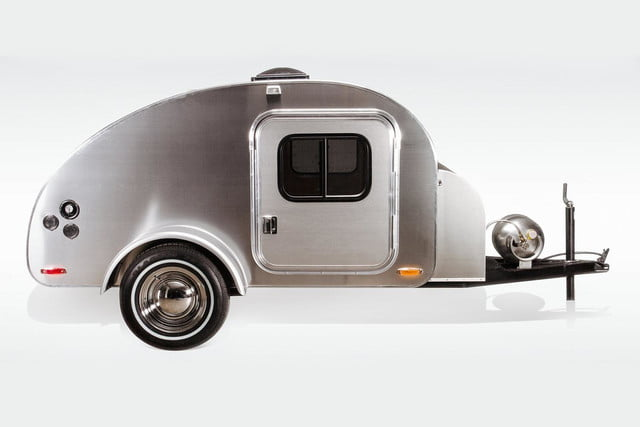 Trekking: Hit the road with the High Camp teardrop trailer