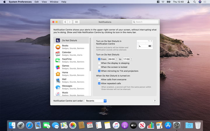 How to turn off notifications on your Mac
