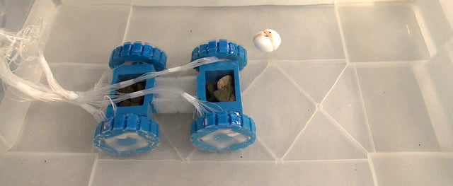 soft robot role in rescue and space underwater