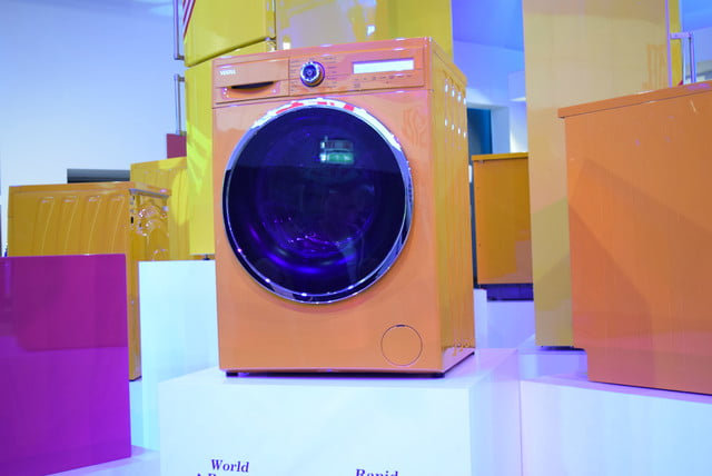 cool washers and dryers from ifa 2015 vestel orange washer