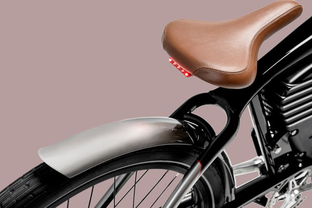 vintage electric readies roadster speed merchant souped up ebike bikes leather saddle seat