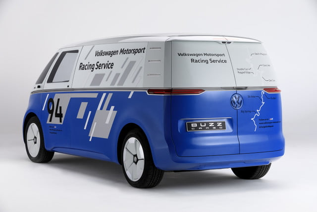 Volkswagen ID Cargo race support vehicle