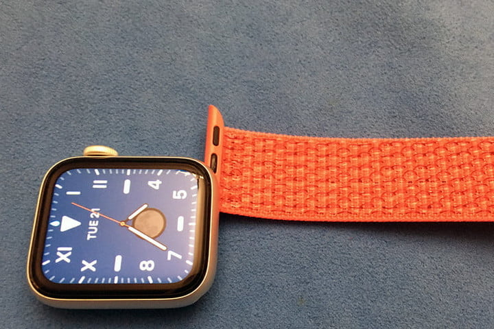 Apple Watch band attachment