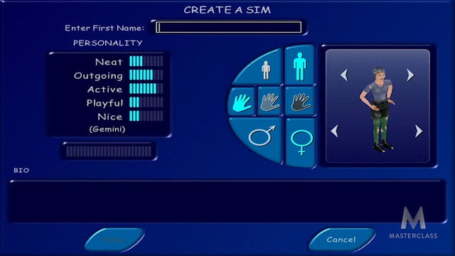 game designer will wright mastercall master class the sims