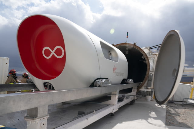hyperloop pod carries first passengers in test trip xp 2 vehicle