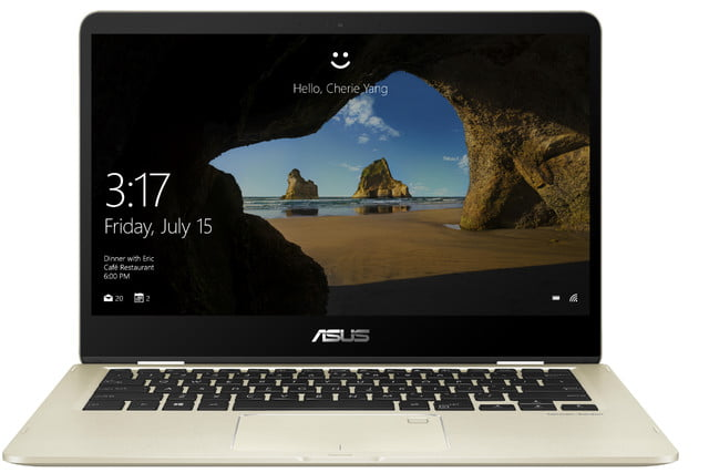 asus zenbook ifa 2017 news flip 14 ux461 product photo  1c icicle gold 05