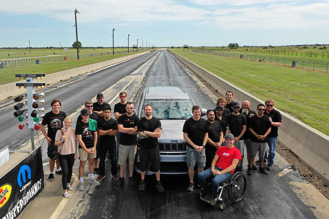 jeep grand cherokee hennessey hpe1200 trackhawk world record qt mile 1 min 1200x800 c