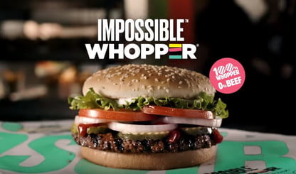 calorias hamburguesa vegetariana burger king