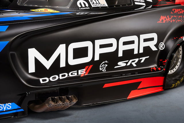 mopar dodge funny car nuevo modelo key design features of the new 2019 charger srt hellcat nhra include bodyside scallops wit
